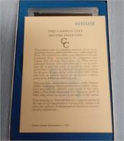 "1884 ''CC"" MORGAN SILVER DOLLAR (A49)"