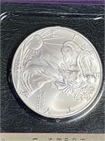 2002 - SILVER AMERICAN EAGLE DOLLAR (36JJ)