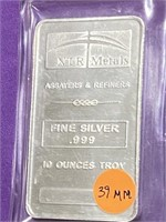 .999 FINE SILVER 10 OUNCES TROY (39MM)
