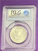 (13M) GRADED 1959-D MS64FBL FRANKLIN SILVER HALF