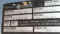 1988 Dodge Ramcharger