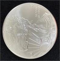 Eighteen 2013 Silver American Eagles 1 Oz. Fine