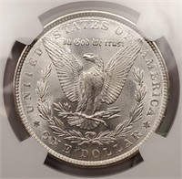 "1886 ""MS64"" MORGAN SILVER DOLLAR (321)"