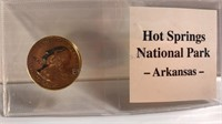 Hot Springs National Park Arkansas Quarter Coin
