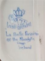 814 - IRISH DRESDEN FIGURINE