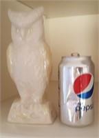 814 - PORCELAIN OWL FIGURINE
