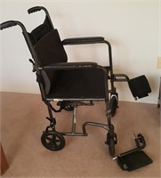 814 - DRIVE TRANSPORT WHEEL CHAIR