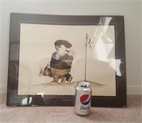 814 - ART: LOT OF 6 FRAMED PICTURES