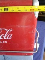 404 - VINTAGE COCA COLA CHEST (VALUE $375)