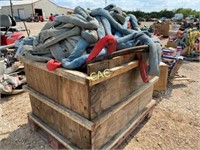 Pallet of  Reusable Cinch Straps