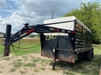 W-W  Gooseneck 16' Cattle Trailer *no title*
