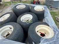 Pallet of Golfcart Tires