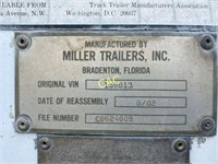 Fifth Wheel 45' High Box 13' Trailer Tandem