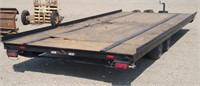 18' Flat Bed Utility Trailer