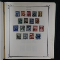 Austria Stamps Mint & Used to 1970 in Scott Specia