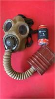 WW2 Military gas mask