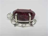 213.81 cts Ruby Pendant *Appraisal*