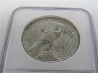 1923-S US Peace Silver Dollar