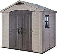 Keter Factor 8x6 Large Resin Outdoor Shed For