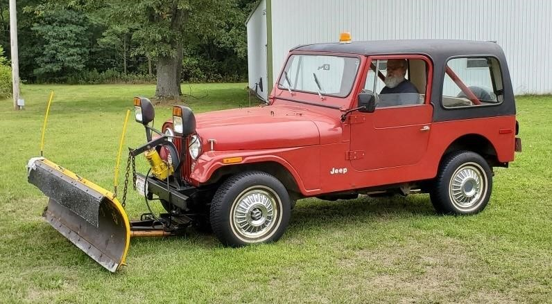 1980 Jeep CJ7 39K Original Miles!   Meyers Plow