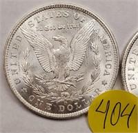 "LOT OF 2 - 1904 ""O"" MORGAN SILVER DOLLAR (404)"