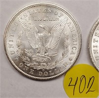 "LOT OF 2 - 1904 ""O"" MORGAN SILVER DOLLAR (402)"