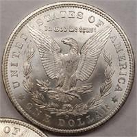 "LOT OF 2 - 1904 ""O"" MORGAN SILVER DOLLAR (407)"