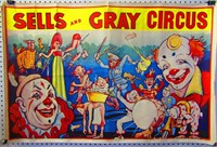 Antique & Vintage Circus & Movie Collectible Poster Auction