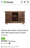 WED. 9/23/20 - FURNITURE & HOME DECOR ONLINE AUCTION @10AM