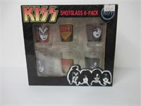 Kiss 6-Pce Shot Glass Set