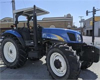 New Holland T6050 Tractor 125 Hp 694 Hours