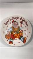 Lenox Holiday Dipping Bowls, Snowman/Angel Plates
