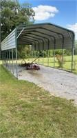 Metal Carport for an RV 40 ft x 18 ft x 12 ft