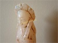 Pair of Gemstone Carvings