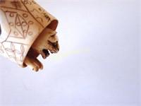 Signed Netsuke - Cat & Mouse