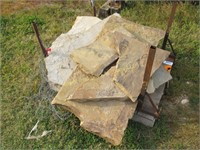 Small pallet of natural flagstones
