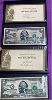 LOT OF TWO $2 DOLLAR BANK NOTES (76)