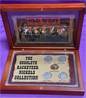 THE OBSOLETE RACKETEER NICKELS COLLECTION (85)