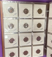HUGE COLLECTION OF PENNIES (79)