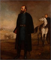 John Adams Elder (Viginia, 1833-1895) portrait of Stonewall Jackson