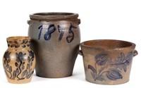 Rare Shenandoah Valley of Virginia 19th-century stoneware