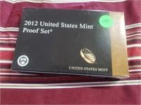 2012 S  US Proof Set  KEY DATE SET