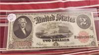 Series of 1917 $2.00 Bill XF