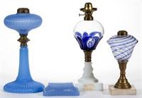 Rare early kerosene period lighting
