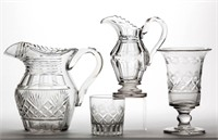 Good selection of early cut glass