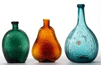 From a selection of flasks, bottles, and fruit jars