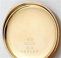 Waltham, pendant watch, 0S, beautiful 14K HC