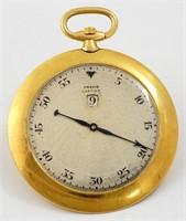Cartier, jump hour, very thin, 18K w/enamel