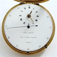 John Sharp, duplex doctor's watch w/center-seconds