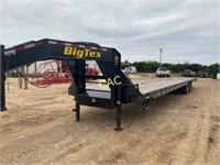 BigTex 22gn HY 40' Trailer w/Adjustable Axles